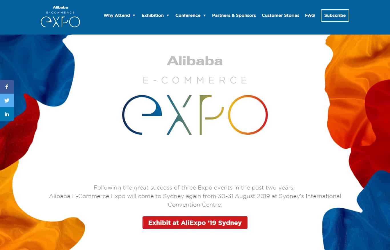 Alibaba E-commerce Expo