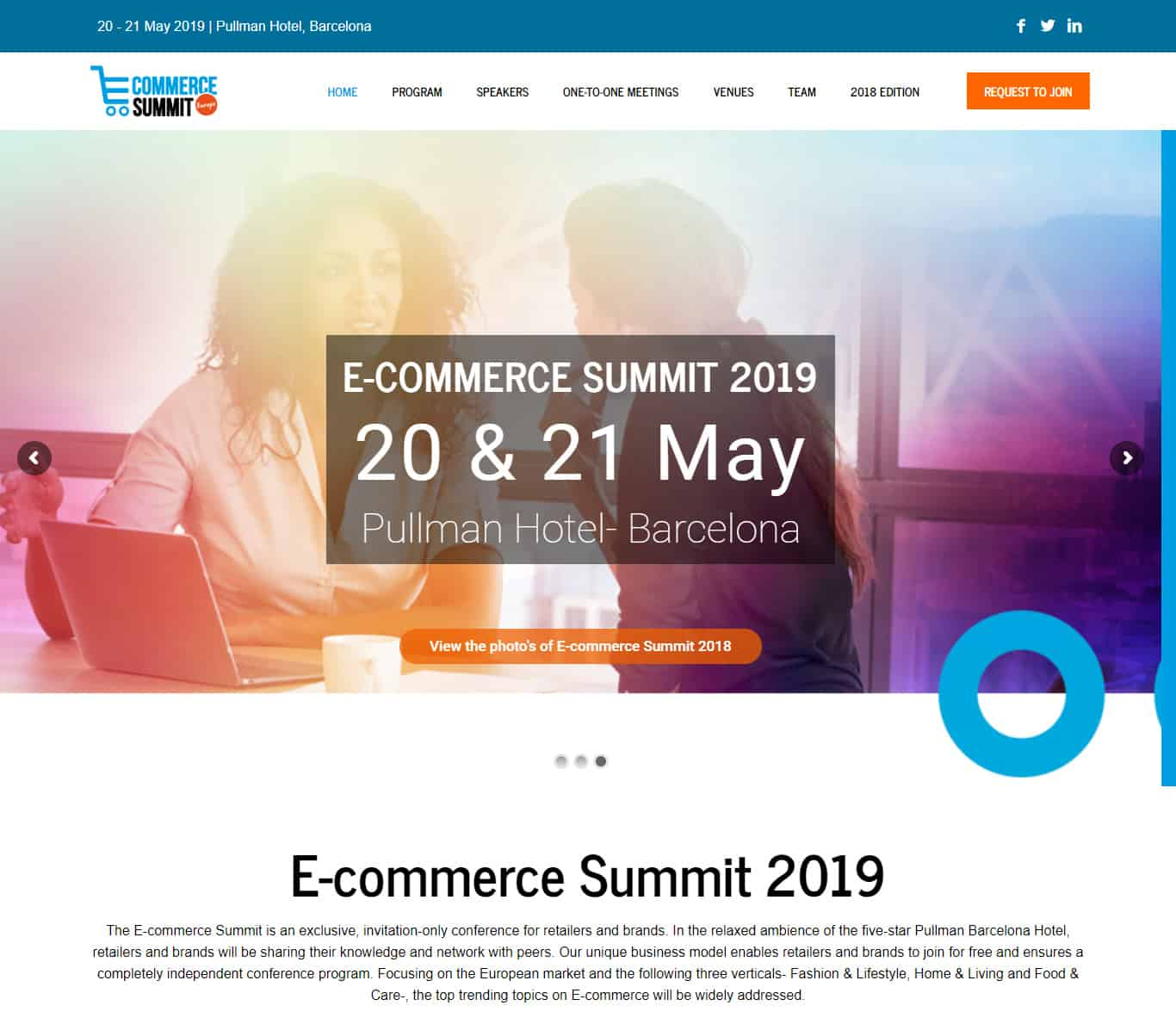 EcommHub Summit Conference