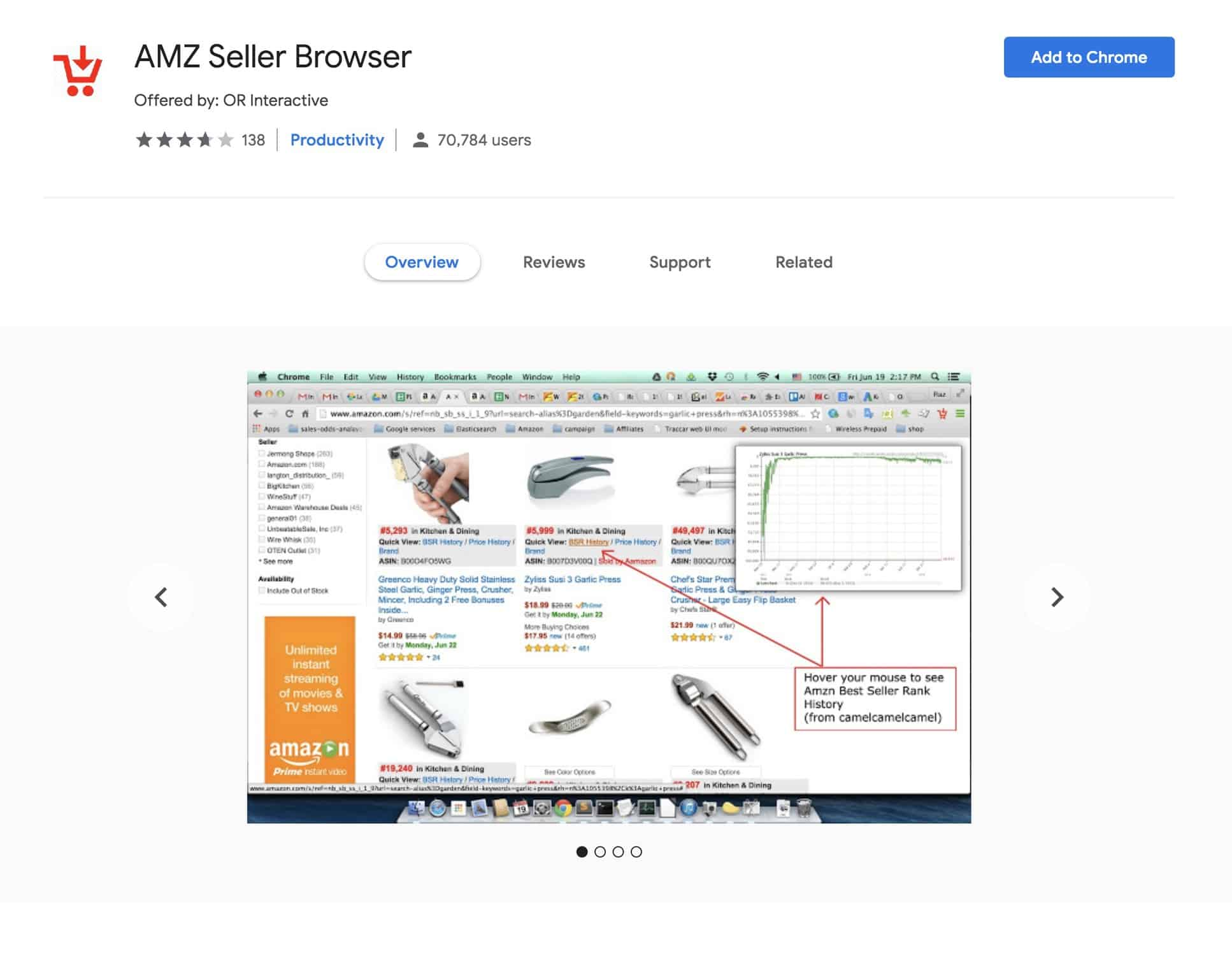 AMZ Seller Browser Chrome