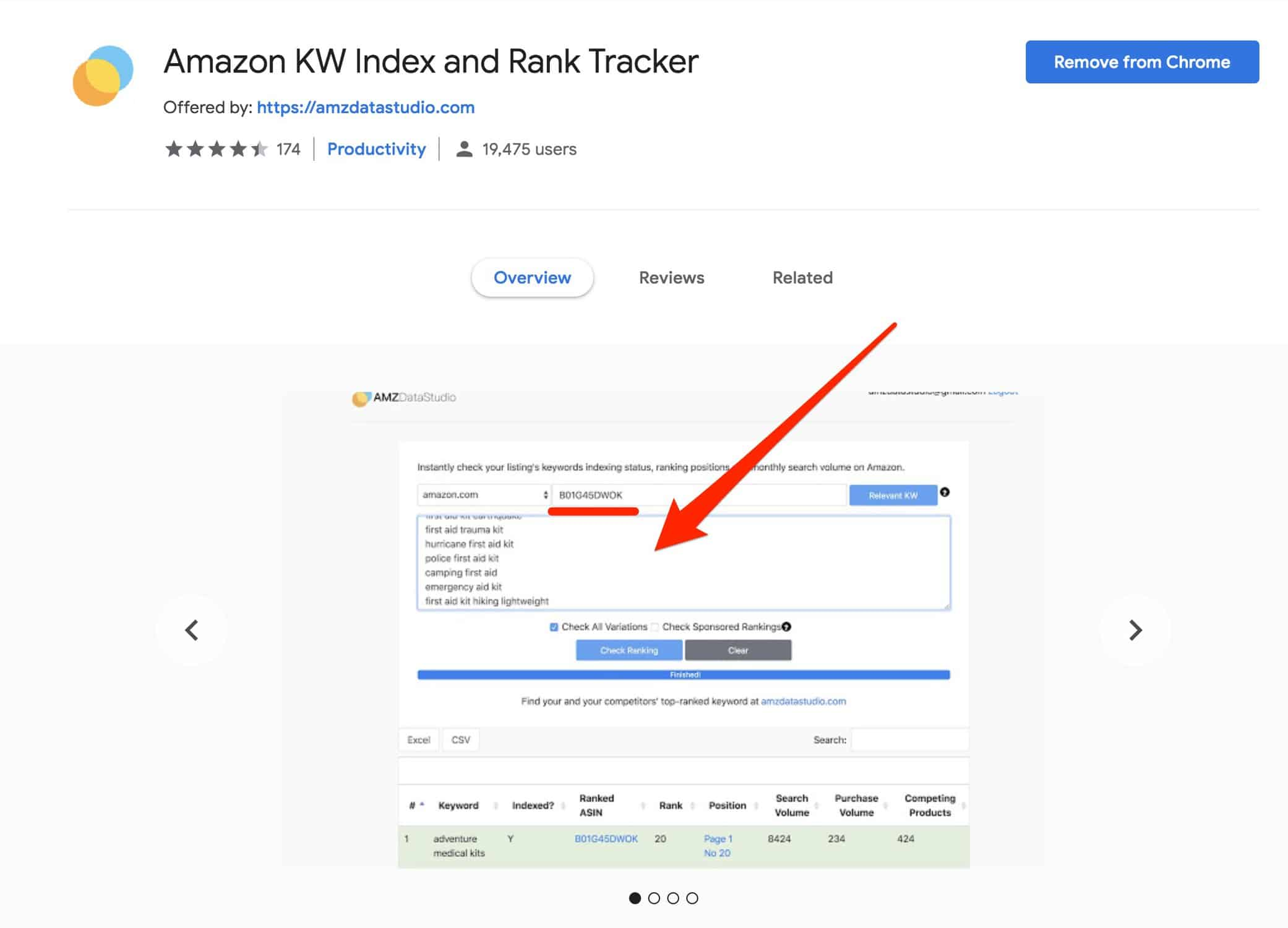 amazon ratings checker