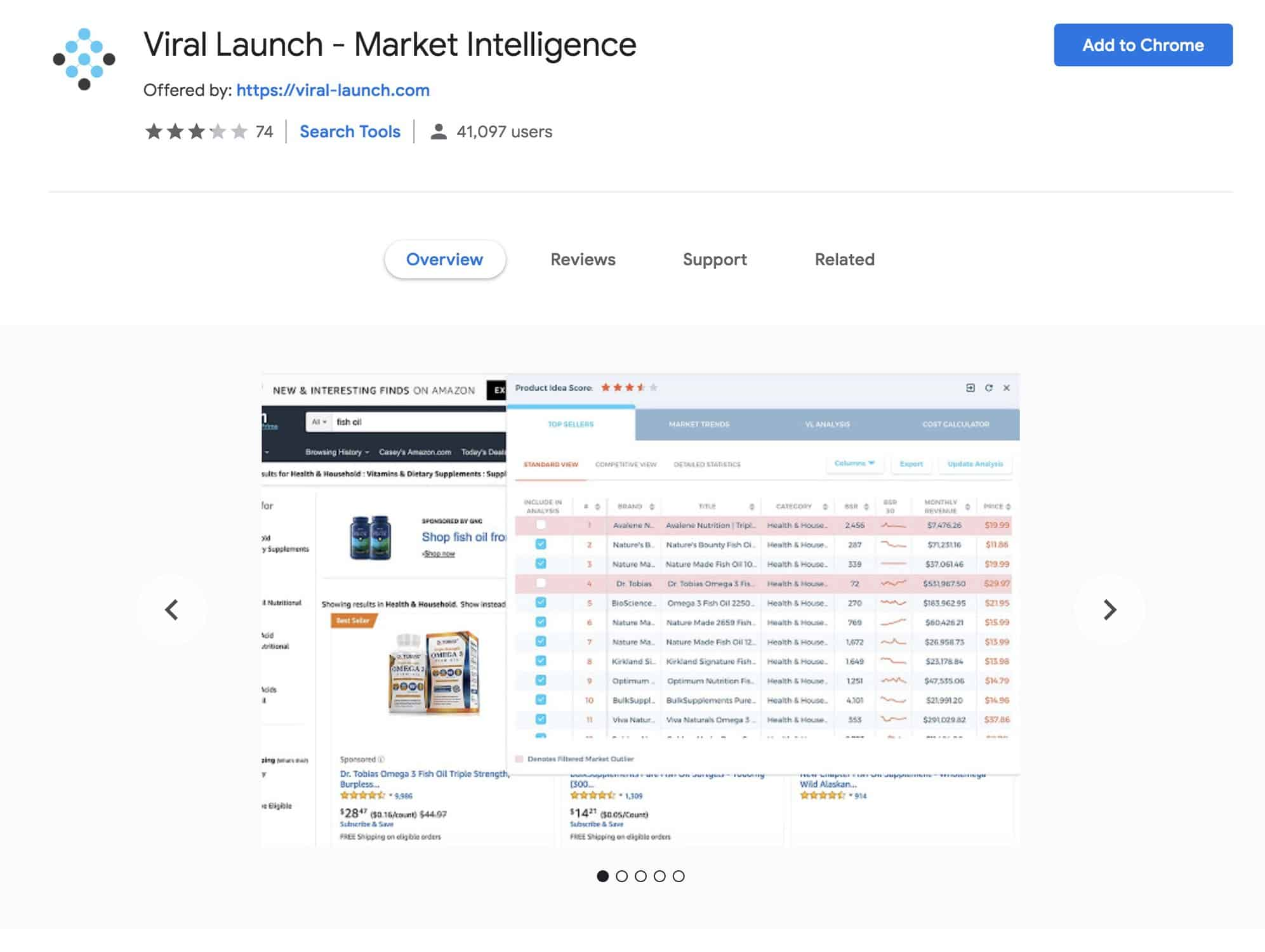 Viral Launch Market Intelligence