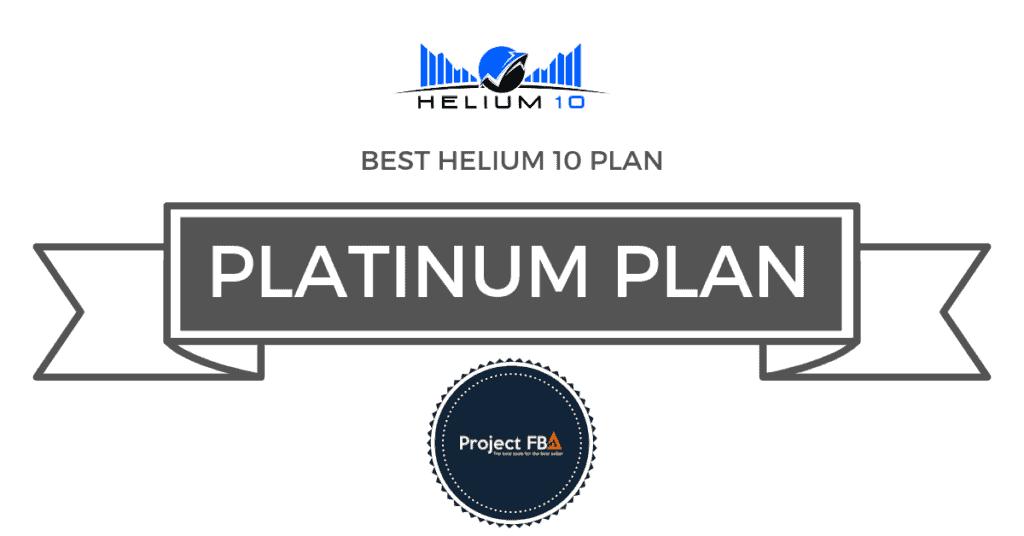 Helium 10 Best Plan Beginners
