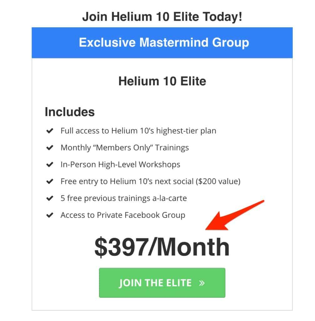 Helium 10 Elite Discount Coupon