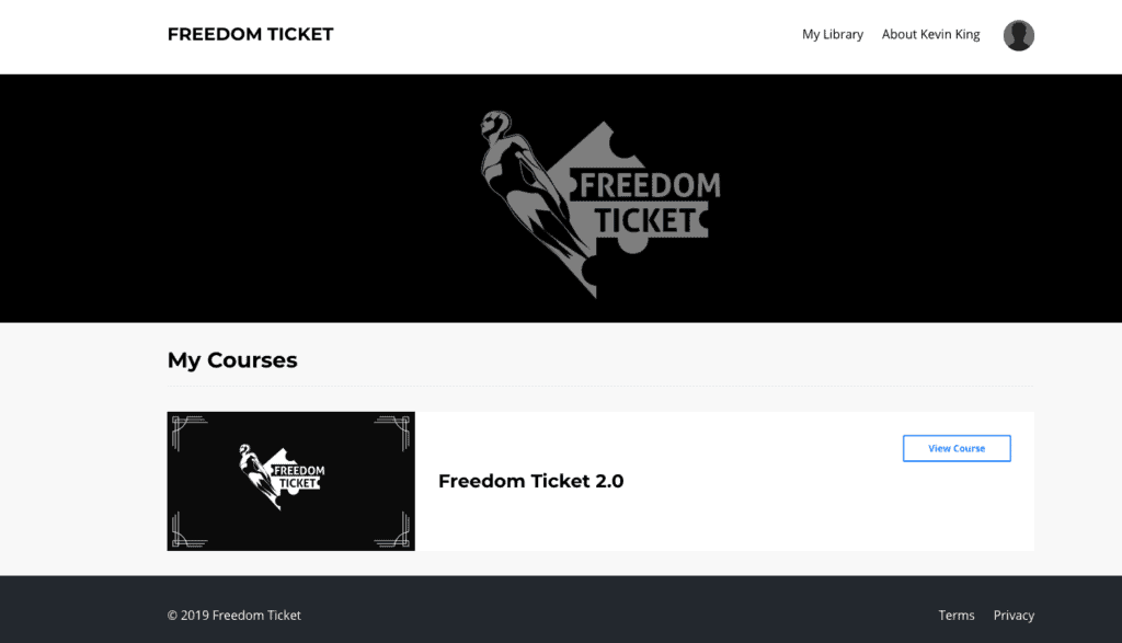 Freedom Ticket 2 Course Review