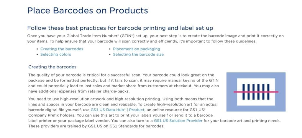 Placing Barcodes on Amazon Private Label Products